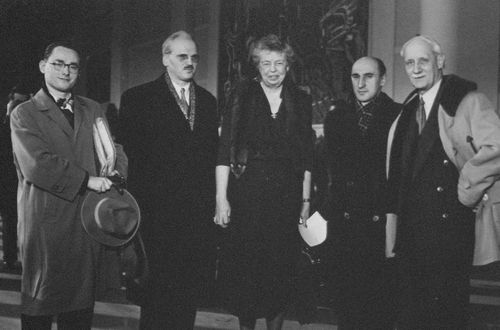 Photo Eleanor Roosevelt et les adventistes